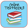 an icon of online textbooks