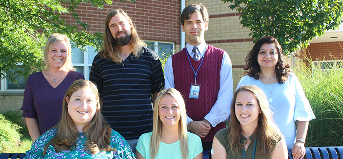a photo of the providence elementary school special education team